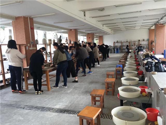 陶瓷文化体验馆、艺术展览馆