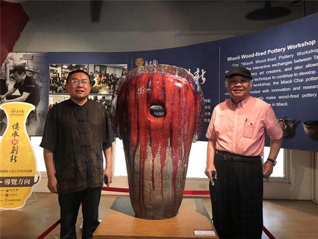 李茂宗现代陶瓷艺术馆和2个临展馆